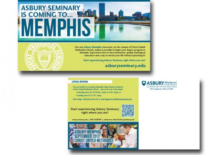 Asbury Seminary Memphis Postcard