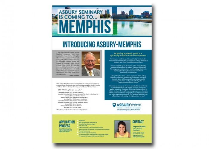 Asbury Seminary Memphis Poster