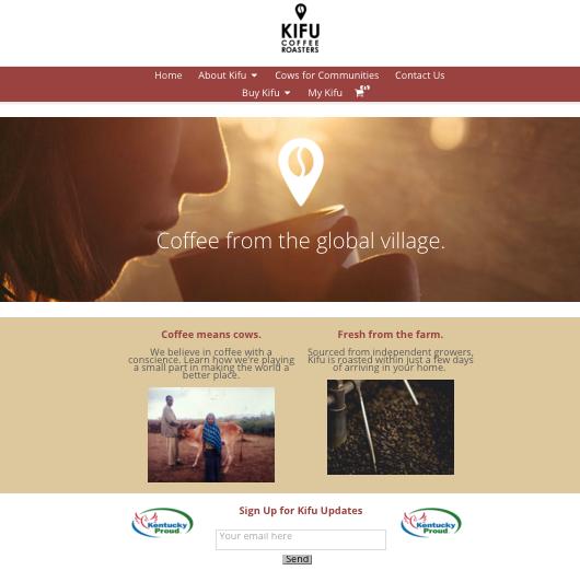 Kifu Web Page Screenshot