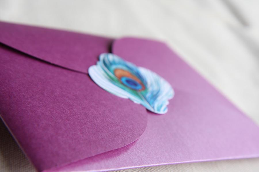 Claudia's Bridal Invitation Wrapper