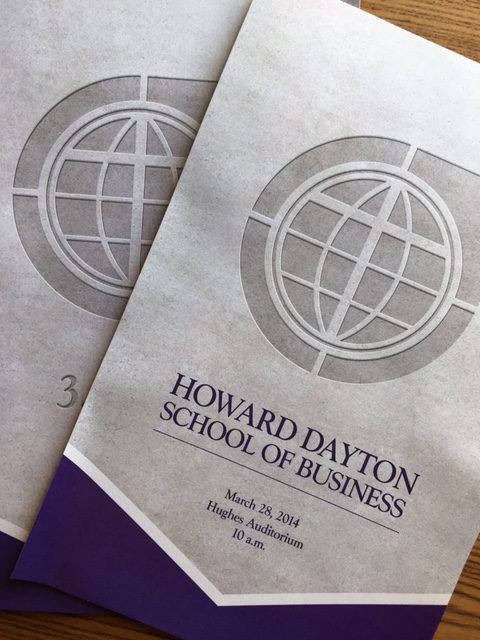 Howard Dayton School of Business Posters