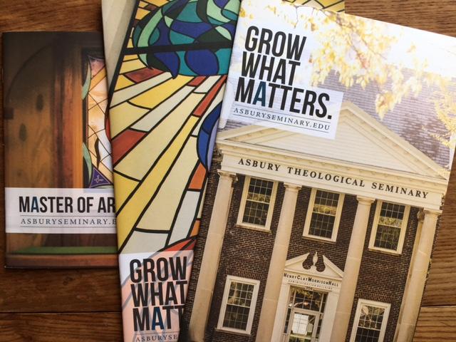 Asbury Seminary Admissions Material